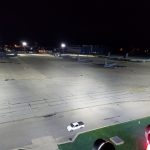 Grissom Air Reserve Base L.E.D. Mass Apron Lighting.  Final phase installed.